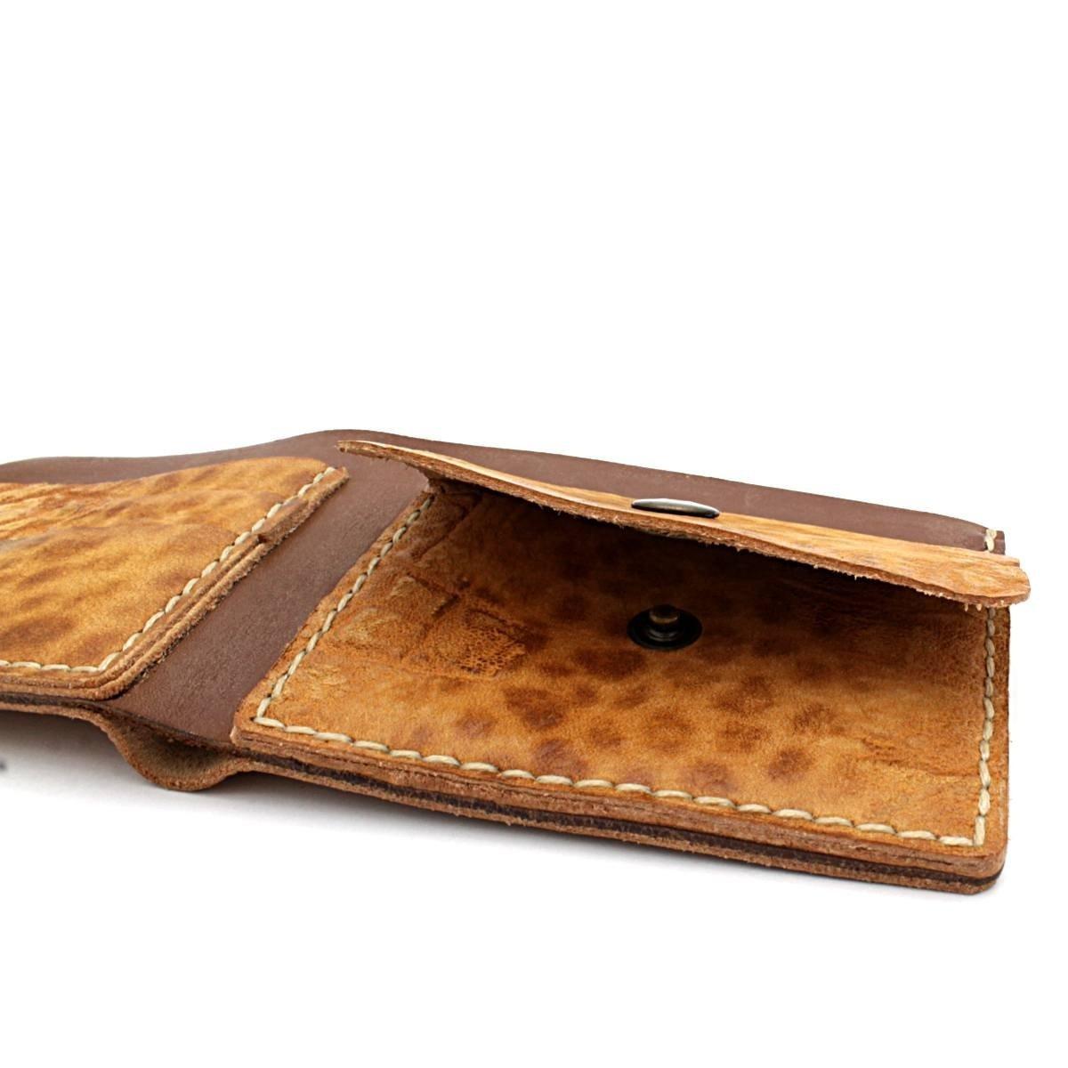 Леопардов Кожен Портфейл АРТ# 5566