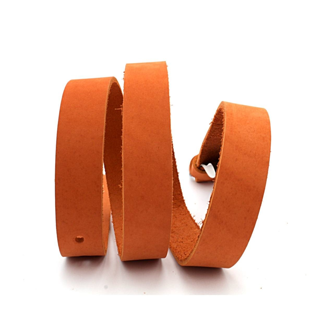 Дамски Колан Естествена Кожа Оранжев АРТ# 7766
