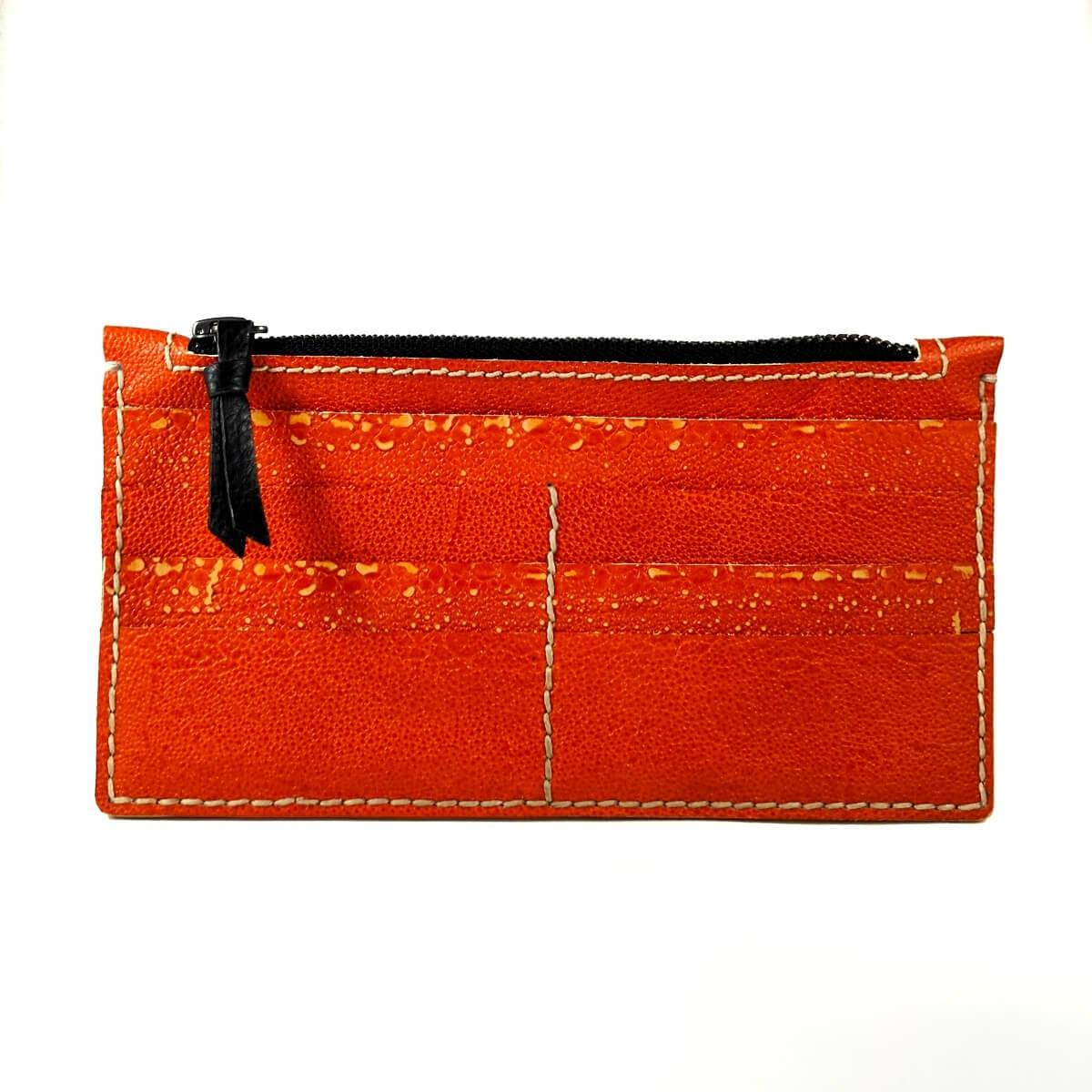 Raphael Rossetti Women's Orange Lether Wallet