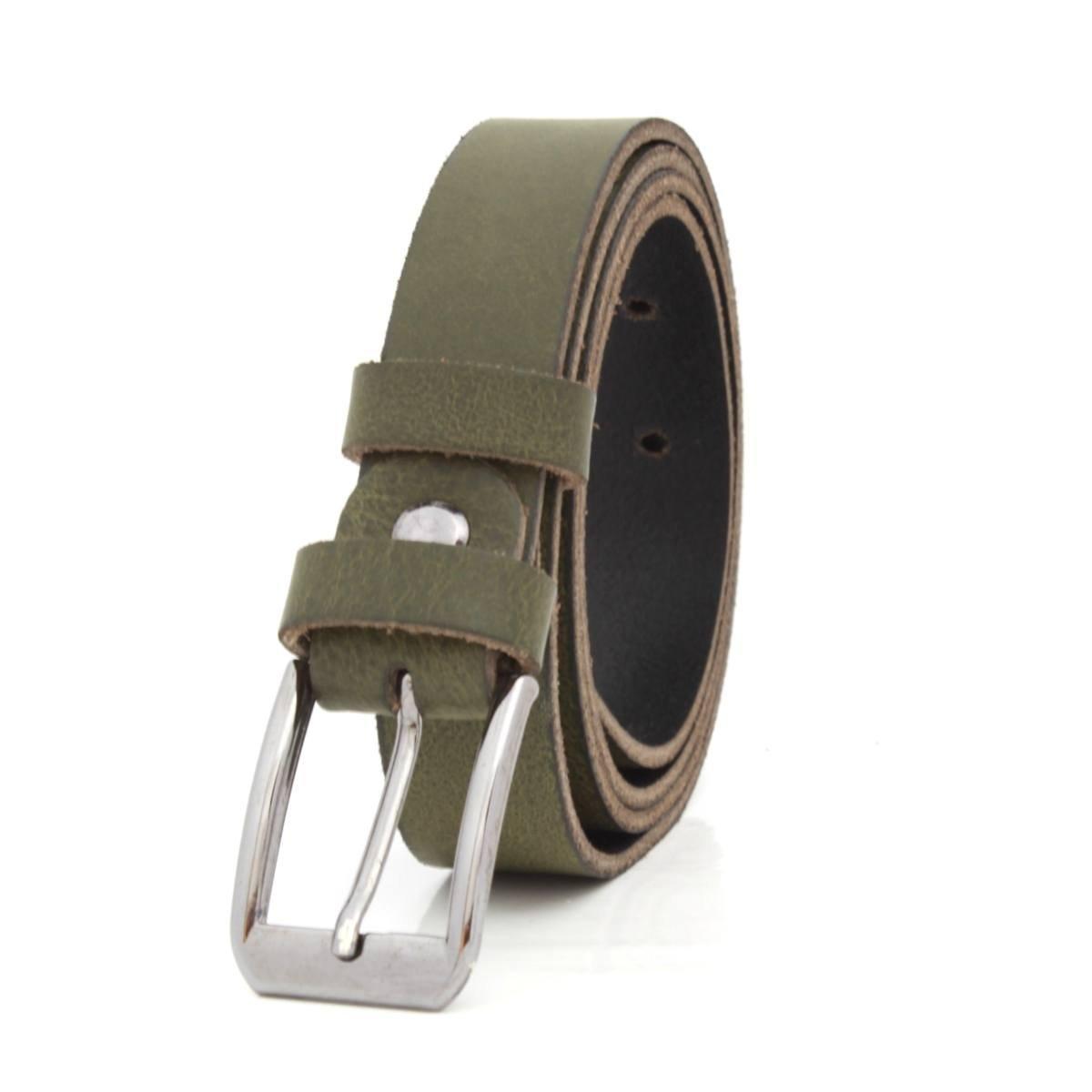 Дамски Колан Естествена Кожа Тъмно Зелен АРТ# 3355