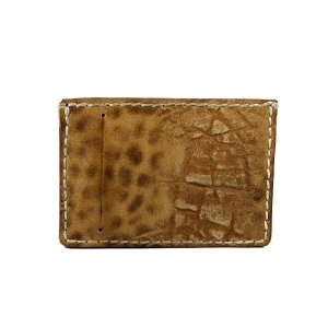 Леопардов Калъф за Документи от естествена кожа Raphael Rossetii