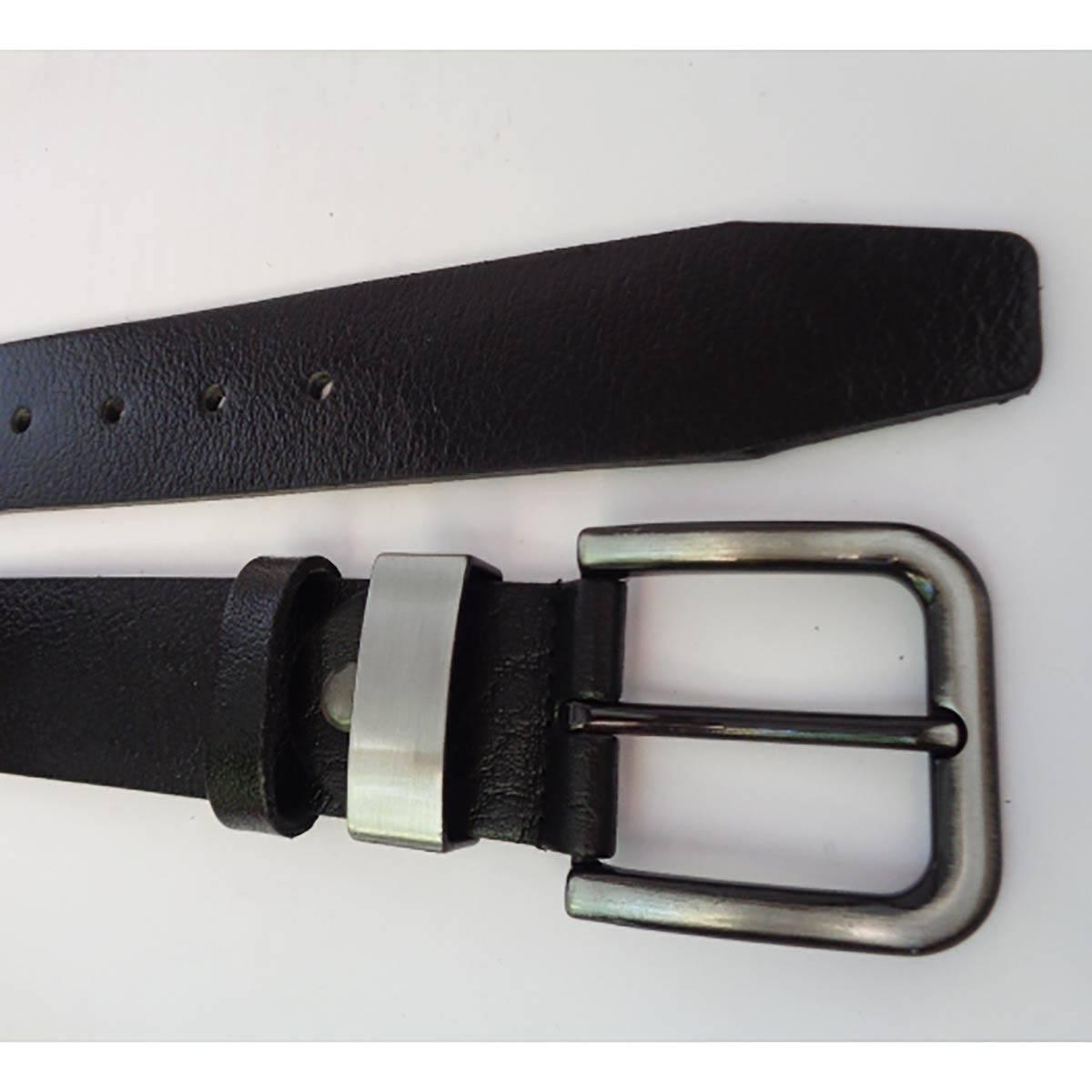 Класически Черен Колан Естествена Кожа АРТ# 5369