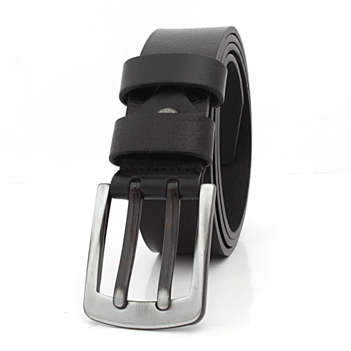Мъжки Колан Естествена Кожа Черен АРТ# 6363