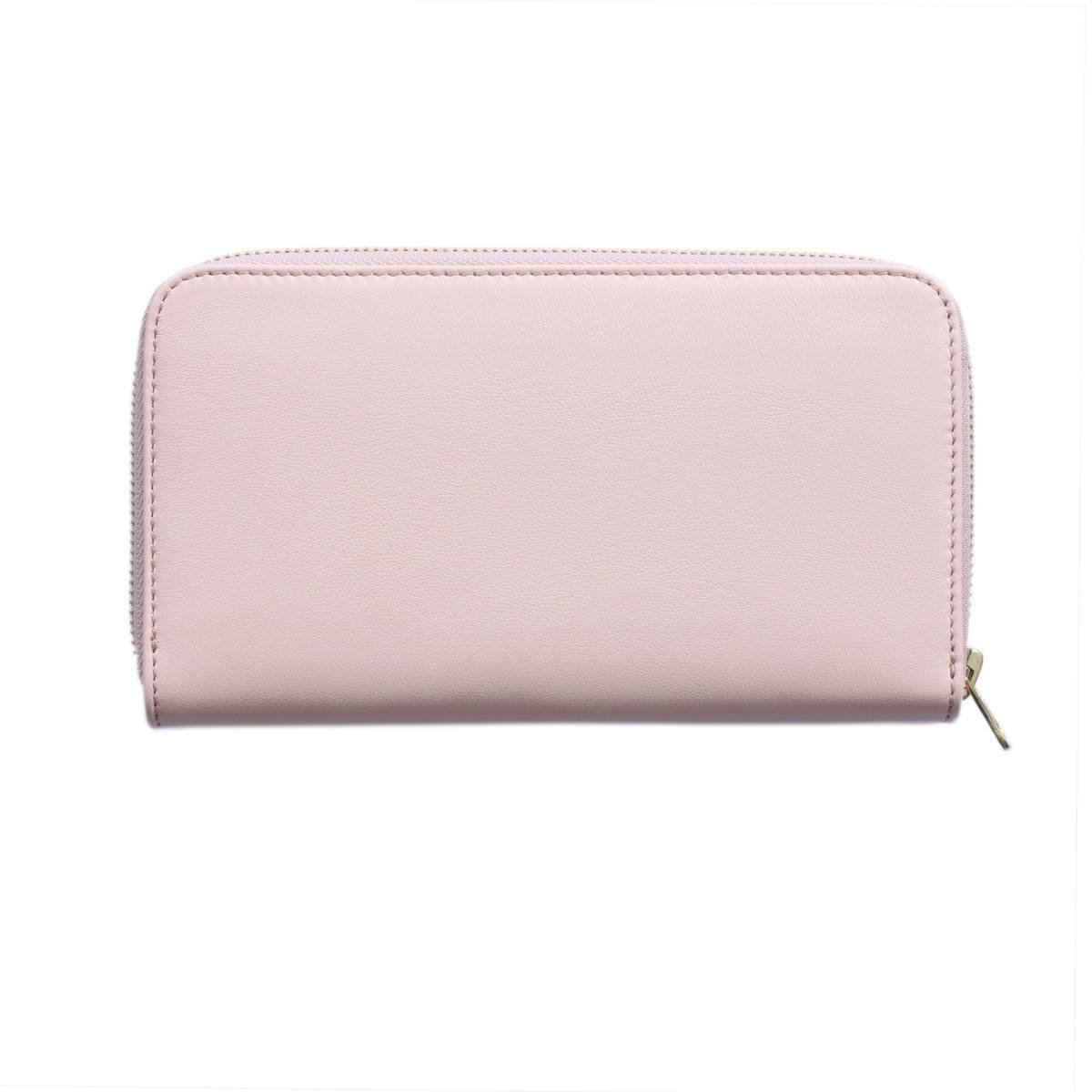 Raphael Rossetti Aletheia Leather Wallet Cement Pink Back