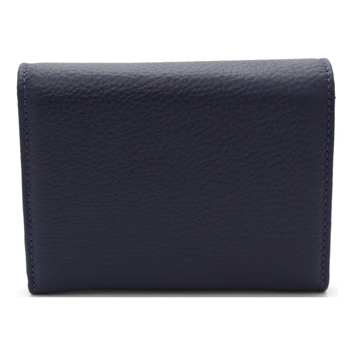 Дамско Портмоне Тъмно Синьо Естествена Кожа АРТ# 4955
