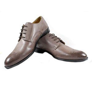 Мъжки Обувки Естествена Кожа Кафеви