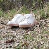 Бели Дамски Маратонки Естествена Кожа Природа