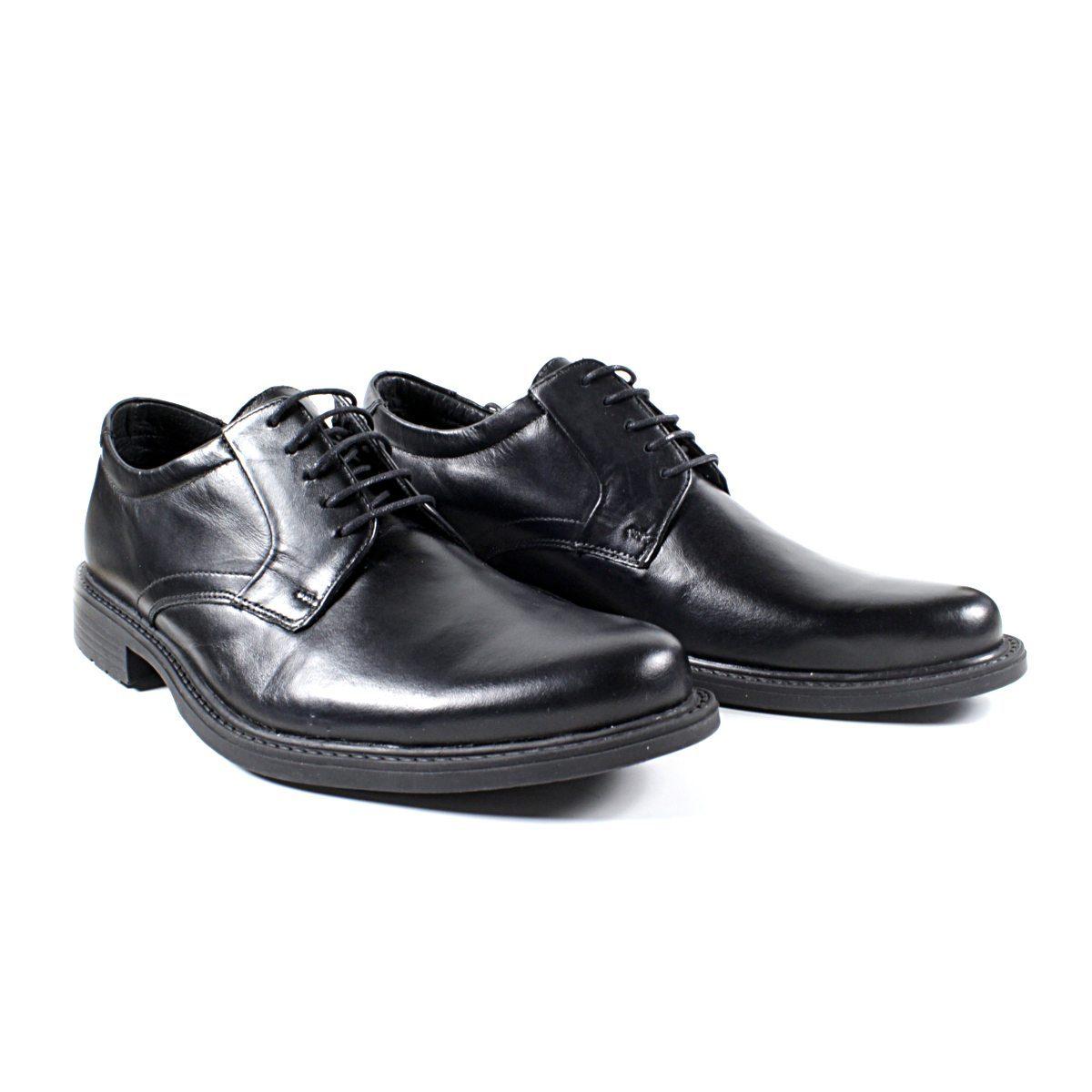 Черни Мъжки Кожени Обувки от Естествена Кожа Двете