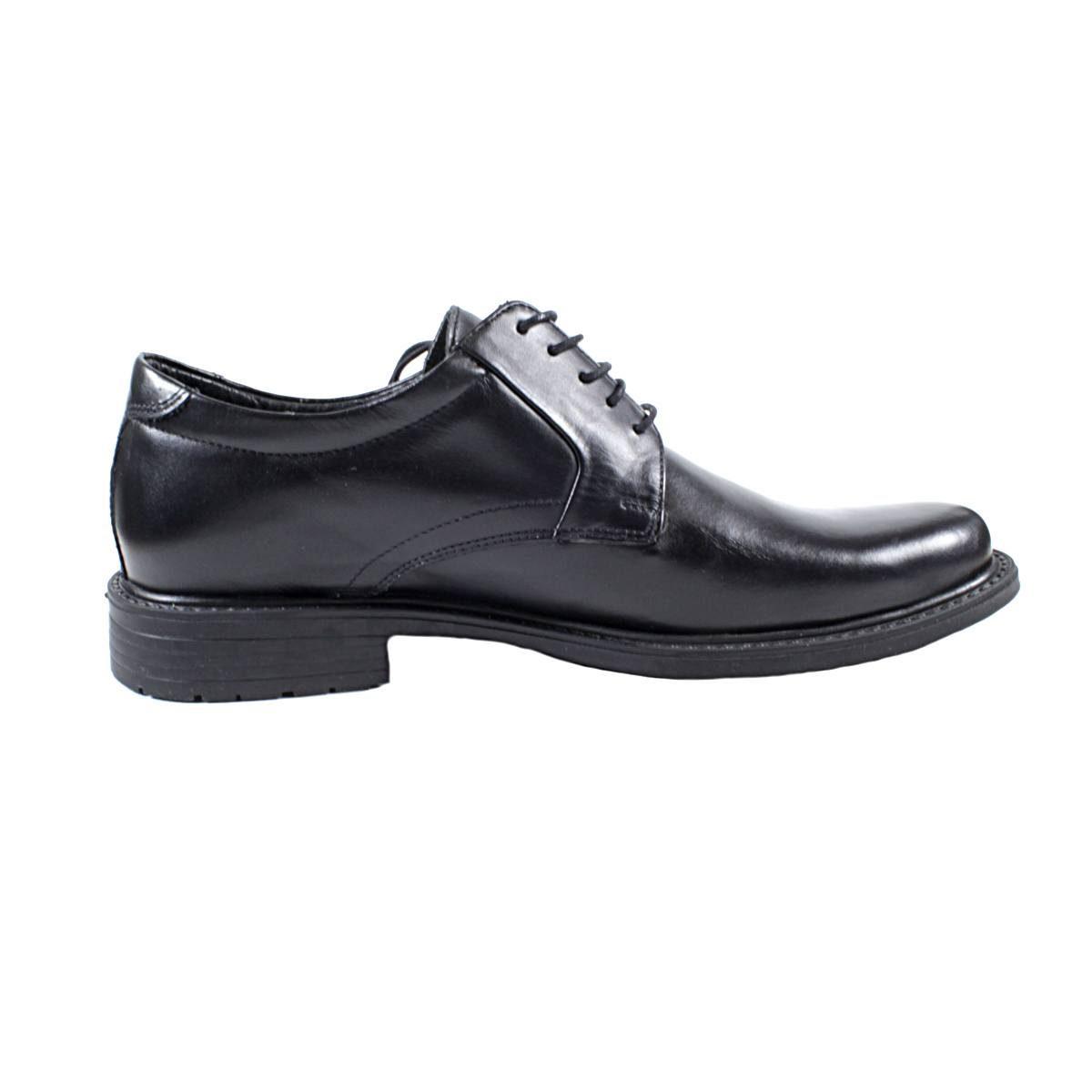 Черни Мъжки Кожени Обувки от Естествена Кожа Едната