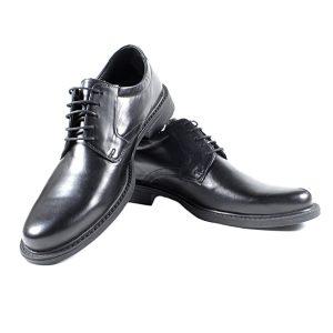 Черни Мъжки Кожени Обувки от Естествена Кожа