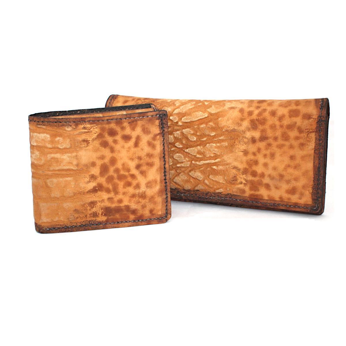комплект мъжки портфейл дамско портмоне отпред