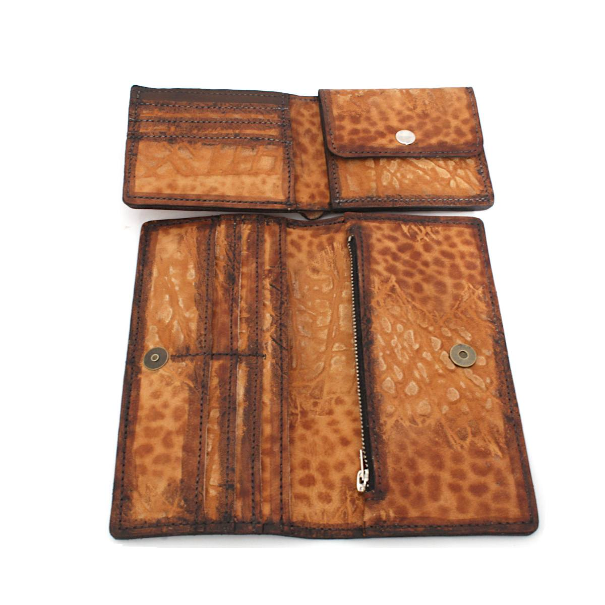 комплект мъжки портфейл дамско портмоне отгоре