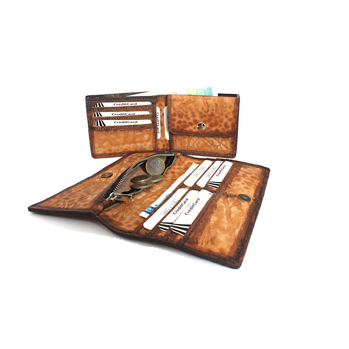 комплект мъжки портфейл дамско портмоне с карти