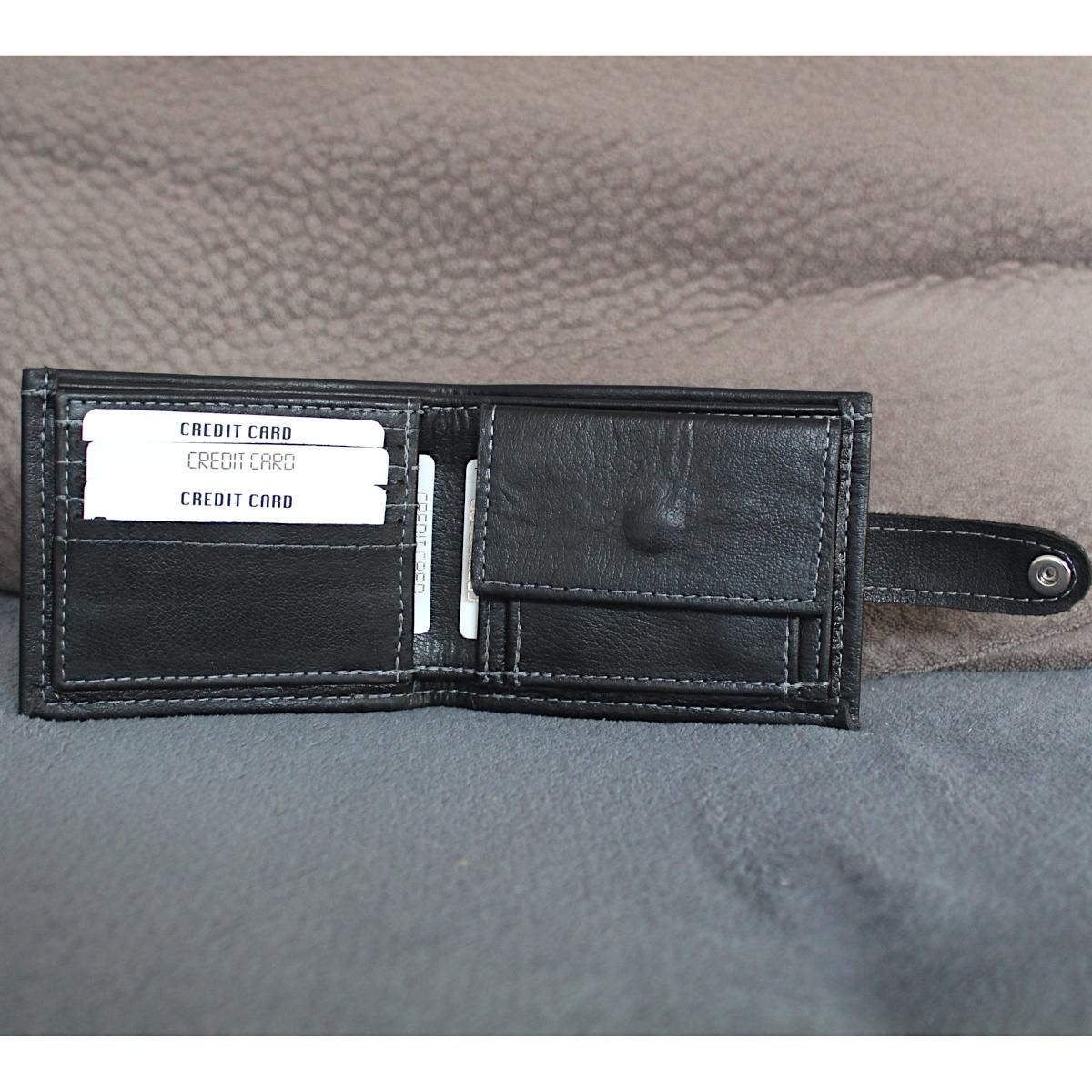 Кожен мъжки портфейл ръчно изработен 1966 цветна