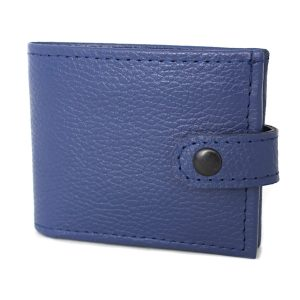 мъжки портфейл телешки бокс син