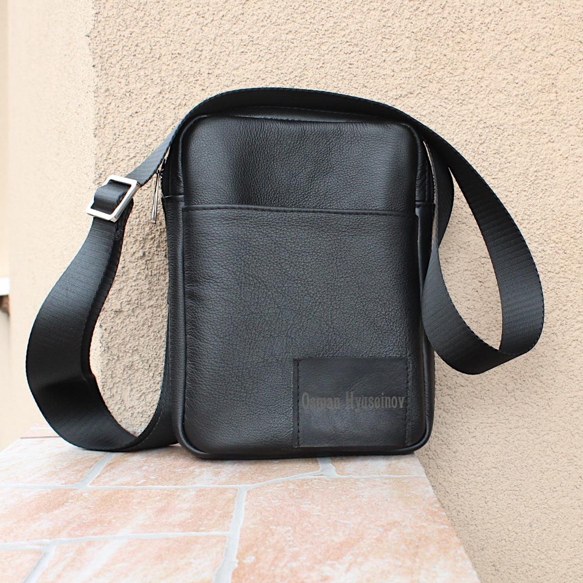 спортно-елегантна чанта за през рамо естествена кожа 3601 отпред цветна