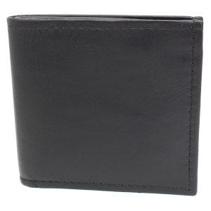 стилен кожен портфейл в черно 7466