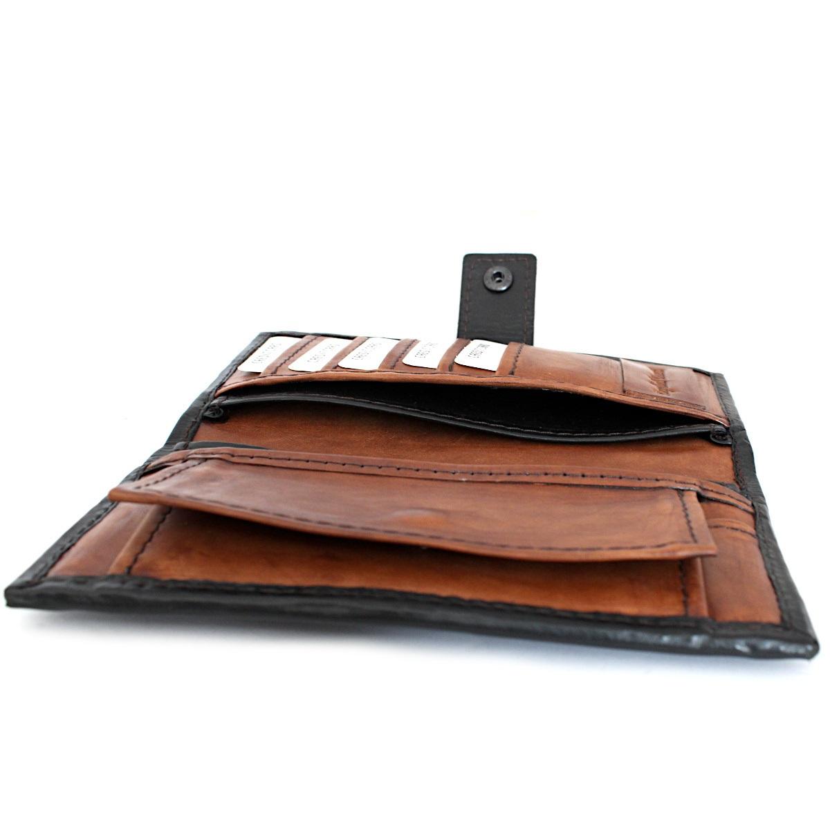 вертикално дамско кожено портмоне 9910 джобове