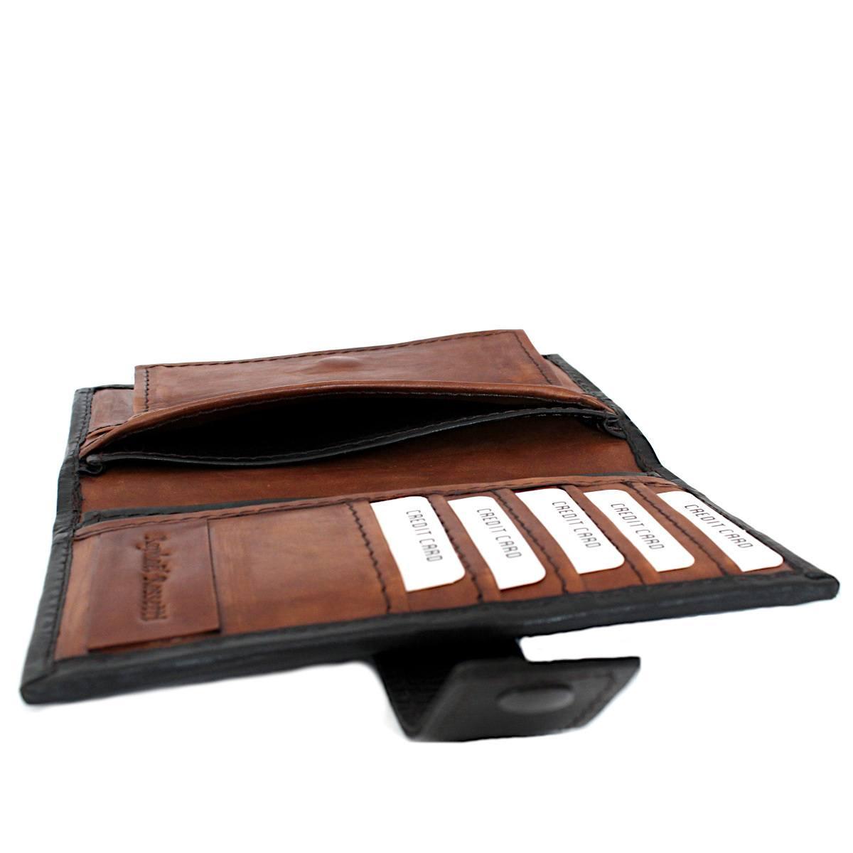 вертикално дамско кожено портмоне 9910 карти