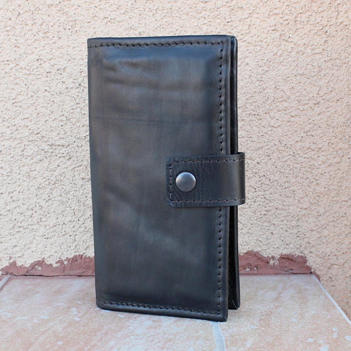 вертикално дамско кожено портмоне 9910