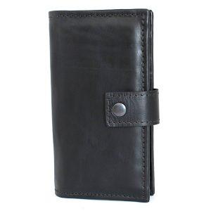голям кожен мъжки портфейл черен 8624