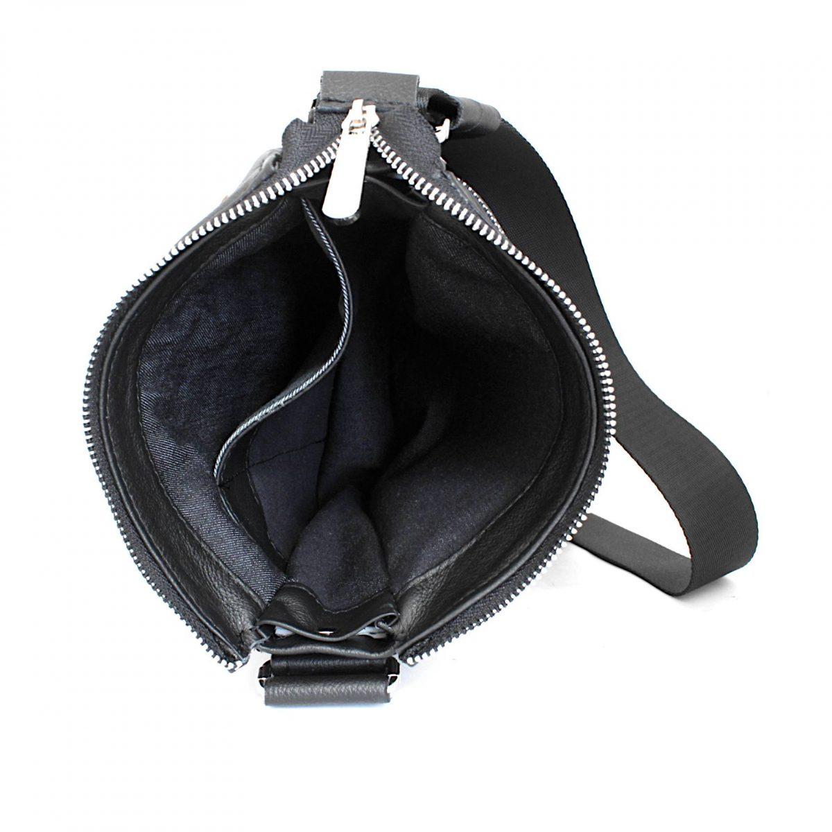 елегантна мъжка чанта телешка кожа вътре
