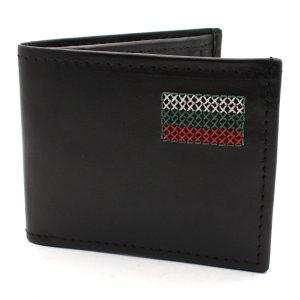 мъжки портфейл бродиран с българското знаме 9829