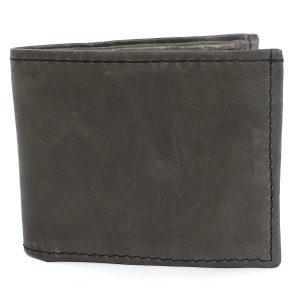 сив мъжки кожен портфейл 6501
