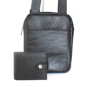 чанта и портфейл естествена кожа