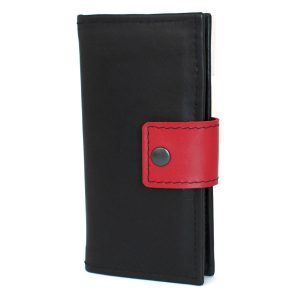 мъжки дълъг кожен портфейл