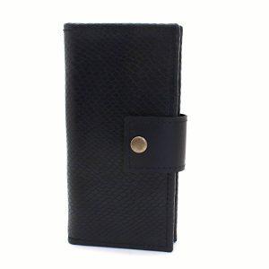 мъжки кожен портфейл с външен монетник