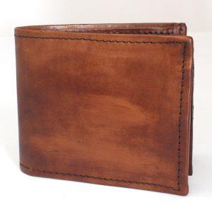 светло кафяв мъжки кожен портфейл
