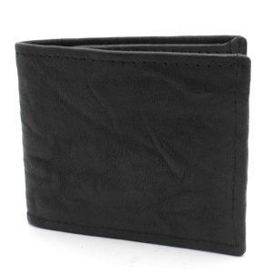 хубав мъжки кожен портфейл в черно