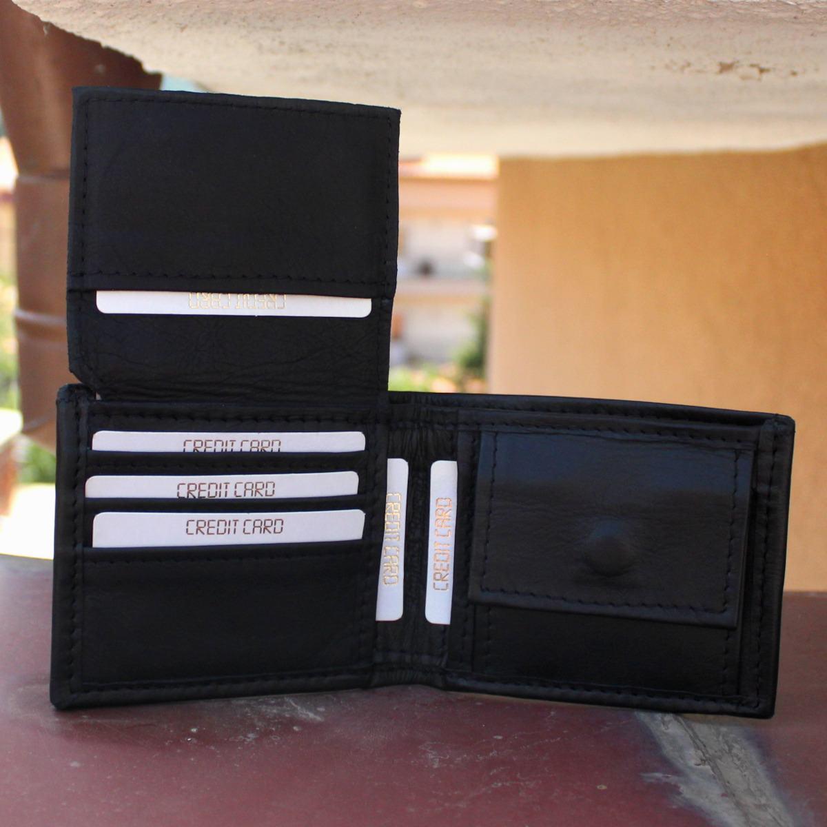 кожен портфейл лукс в черно - карти1
