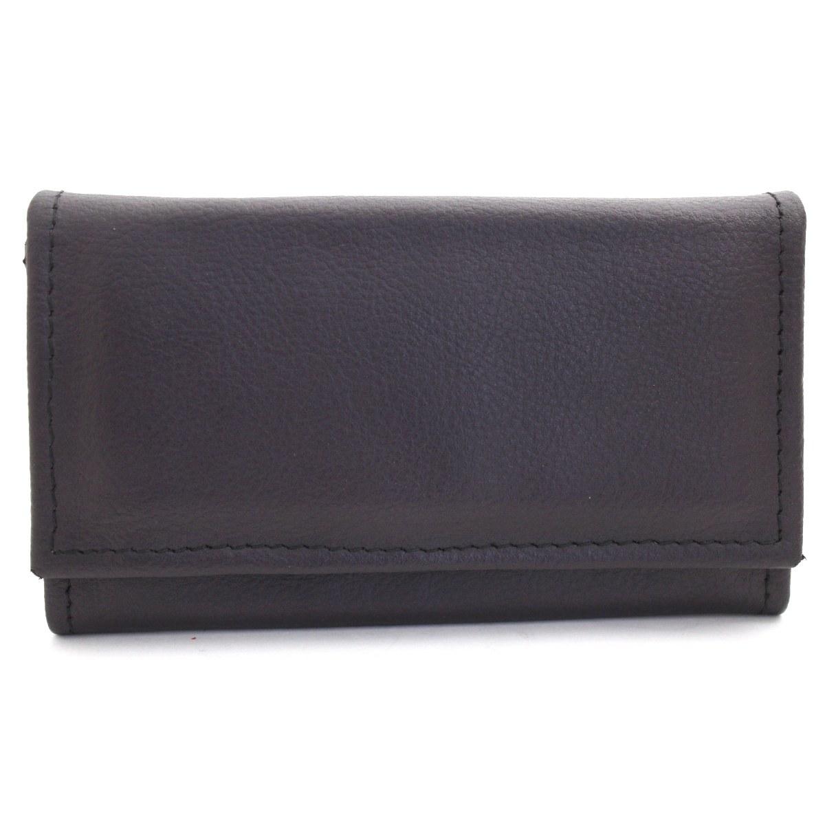 лилаво дамско портмоне естествена кожа