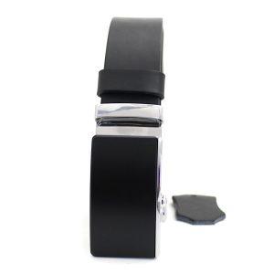 черен колан с автоматично закопчаване